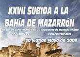 Este fin de semana se disputará la 'XXIV subida Playas de Mazarrón'